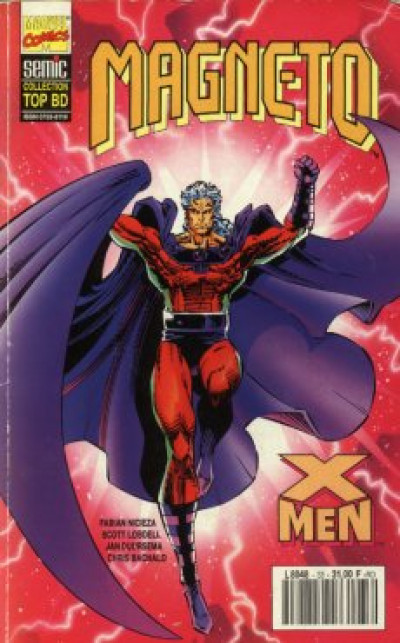 Couverture Top BD tome 33 - Magneto (éd. 1994)