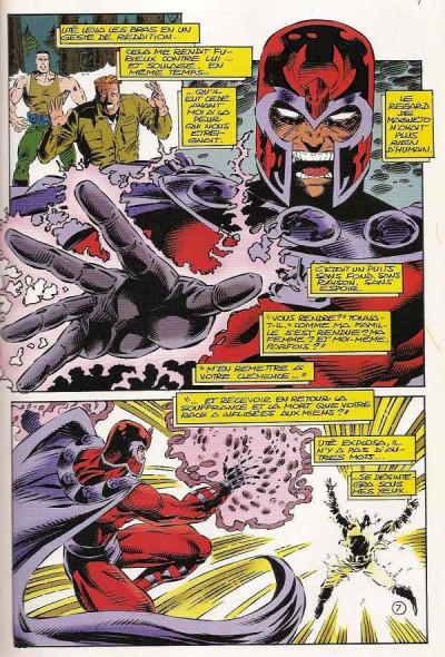Page 1 Top BD tome 33 - Magneto (éd. 1994)