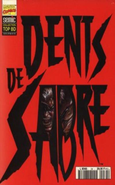 Couverture Top BD tome 34 - Dents de Sabre (éd. 1994)