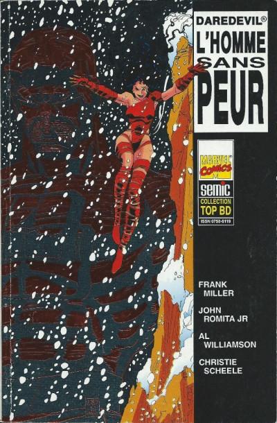 Couverture Top BD tome 35 - Daredevil - L'homme sans peur (éd. 1994)