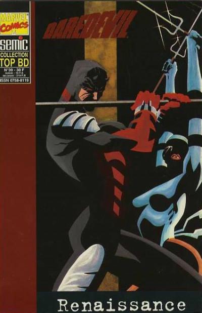 Couverture Top BD tome 39 - Daredevil - Renaissance (vol.2) (éd. 1995)