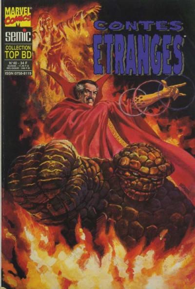 Couverture Top BD tome 40 - Contes étranges (éd. 1995)