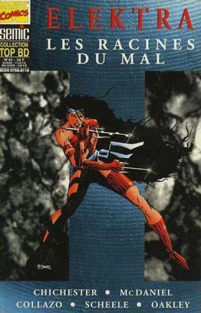 Couverture Top BD tome 41 - Elektra - Les racines du mal (éd. 1996)