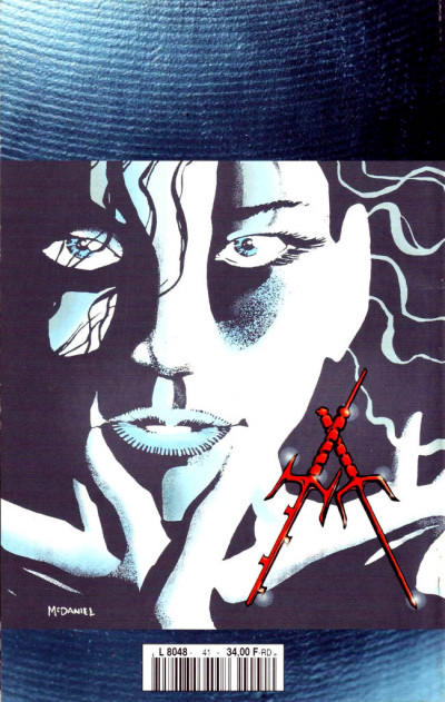 Dos Top BD tome 41 - Elektra - Les racines du mal (éd. 1996)
