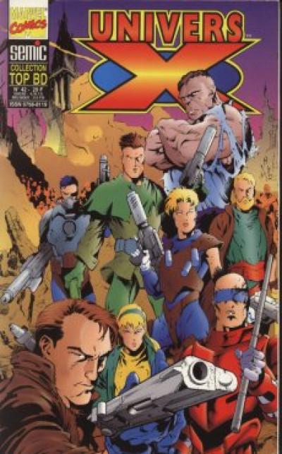 Couverture Top BD tome 42 - Univers X (éd. 1996)