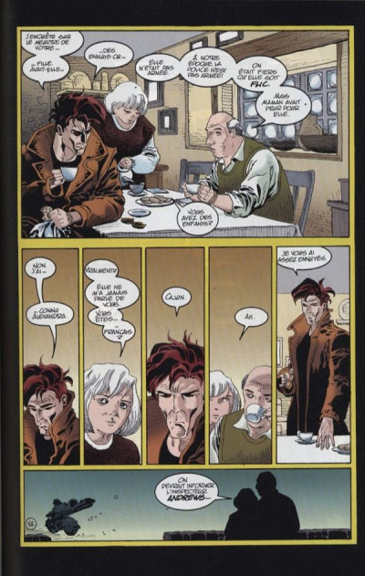 Page 1 Top BD tome 43 - Serval / Gambit - Victimes (éd. 1996)