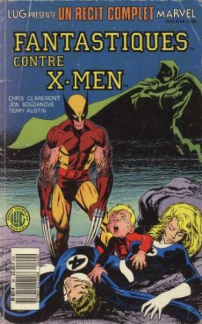 Couverture Récit complet Marvel (Un) tome 20 - Fantastiques contre X-Men (éd. 1988)