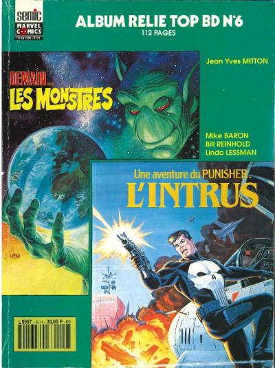 Couverture Top BD - Album relié N°6 (du n°19 au n°20) (éd. 1991)