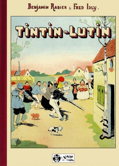 Couverture Tintin-Lutin (éd. 2009)