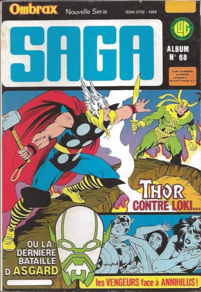 Couverture Ombrax Saga - Album N°68 (du n°247 au n°250) (éd. 1986)