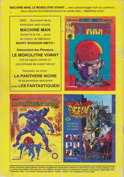 Dos Ombrax Saga tome 251 - Ombrax Saga 251 (éd. 1986)