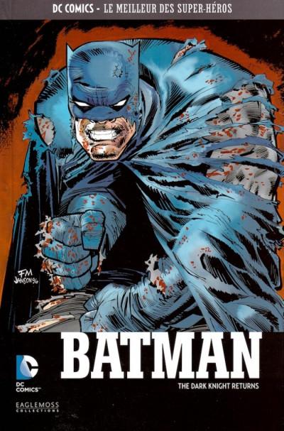 Couverture DC Comics - Le Meilleur des Super-Héros tome 5 - Batman - The Dark Knight Returns (éd. 2015)