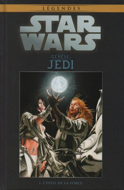 Couverture Star Wars - Légendes - La Collection (Hachette) tome 1 - La Genèse des Jedi - I. L'Éveil de la Force (éd. 2015)