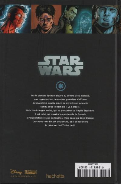 Dos Star Wars - Légendes - La Collection (Hachette) tome 1 - La Genèse des Jedi - I. L'Éveil de la Force (éd. 2015)