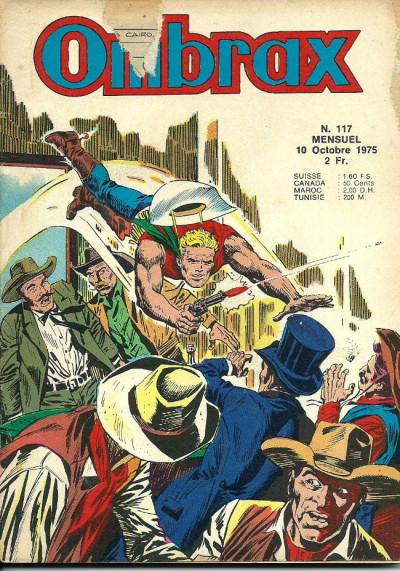 Couverture Ombrax tome 117 - Les pirates du fleuve (éd. 1975)