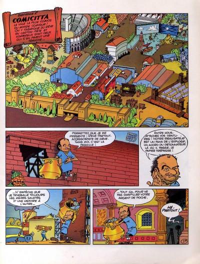 Page 1 Astérix (Autres) tome 4 - Alcolix, la vraie Parodie (éd. 1989)