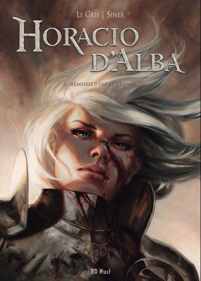 Couverture Horacio d'Alba - tirage de tête tome 3