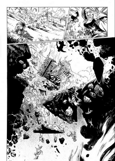 Page 1 Horacio d'Alba - tirage de tête tome 3