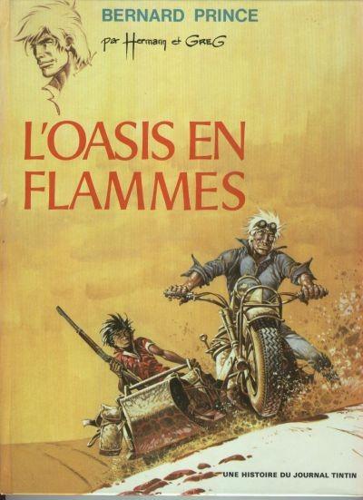 image de Bernard Prince tome 5 - L'oasis en flammes (édition 1972)