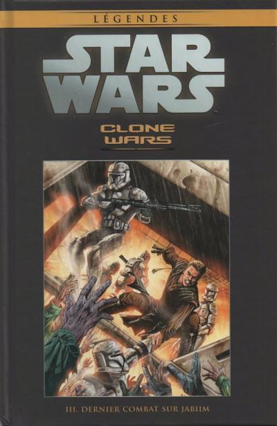 Couverture Star Wars - Légendes - La Collection (Hachette) tome 11 - Clone Wars - III. Dernier combat sur Jabiim (éd. 2016)