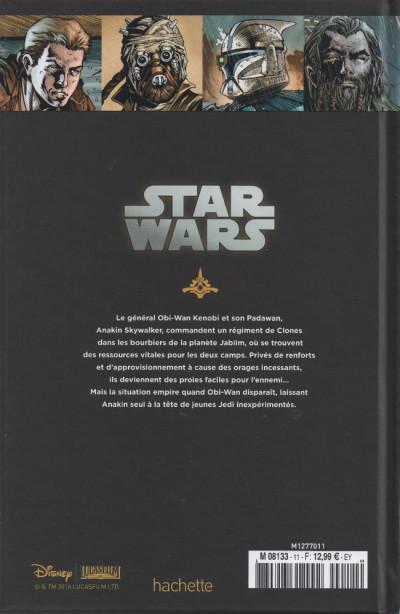 Dos Star Wars - Légendes - La Collection (Hachette) tome 11 - Clone Wars - III. Dernier combat sur Jabiim (éd. 2016)