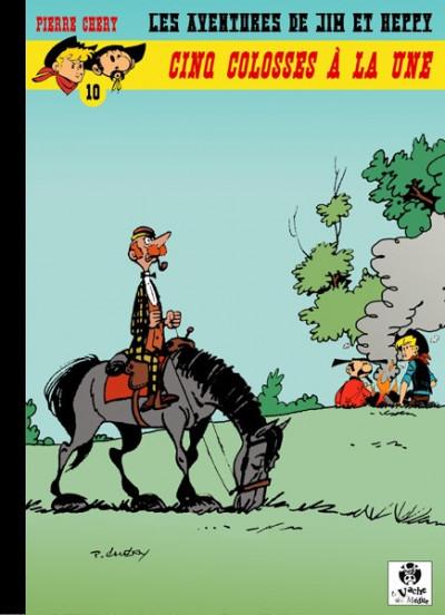 Couverture Les Aventures de Jim l'Astucieux tome 10 - Cinq colosses à la une (éd. 2016)