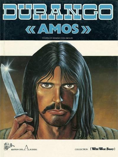 Couverture Durango tome 4 (éd. 1984)