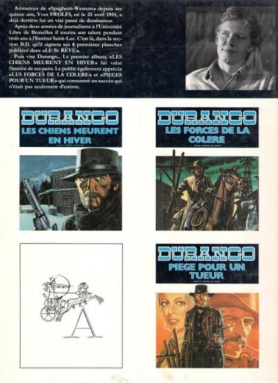 Dos Durango tome 4 (éd. 1984)