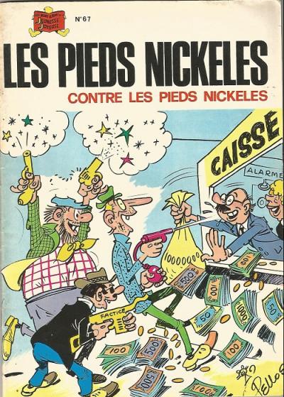 Couverture Les Pieds Nickelés (3e série) (1946-1988) tome 67 -  les pieds nickelés contre les pieds nickelés