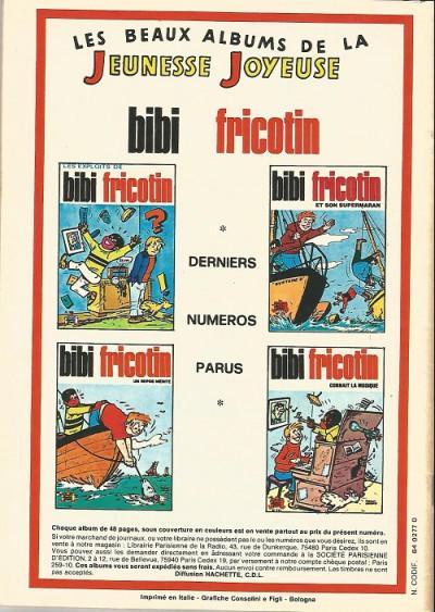Dos Les Pieds Nickelés (3e série) (1946-1988) tome 67 -  les pieds nickelés contre les pieds nickelés