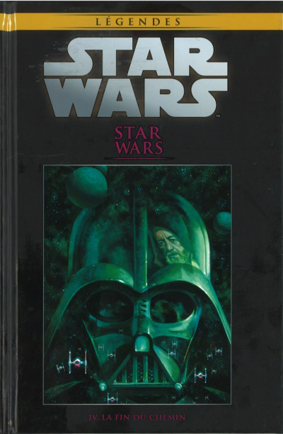 Couverture Star Wars - Légendes - La Collection (Hachette) tome 21 - Star Wars - IV. La Fin du Chemin (éd. 2016)
