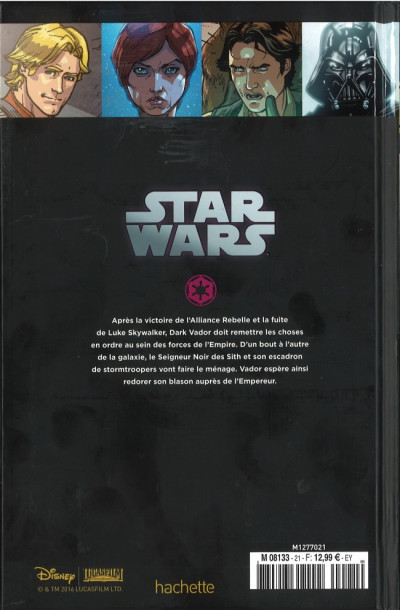Dos Star Wars - Légendes - La Collection (Hachette) tome 21 - Star Wars - IV. La Fin du Chemin (éd. 2016)