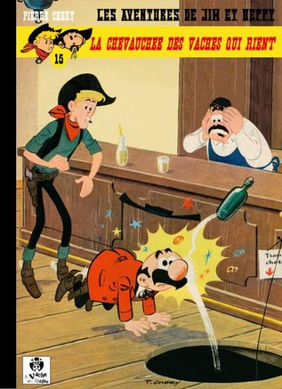 Couverture Les Aventures de Jim l'Astucieux tome 15 - La chevauchée des vaches qui rient (éd. 2016)