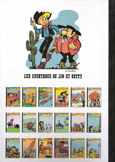 Dos Les Aventures de Jim l'Astucieux tome 15 - La chevauchée des vaches qui rient (éd. 2016)