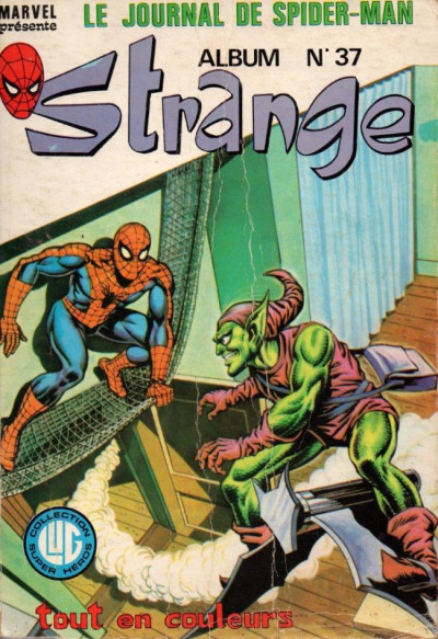 Couverture Strange - Album N°37 (du n°110 au n°112) (éd. 1979)