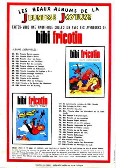 Dos Les Pieds Nickelés (3e série) (1946-1988) tome 55 - Les pieds nickelés sur les tréteaux