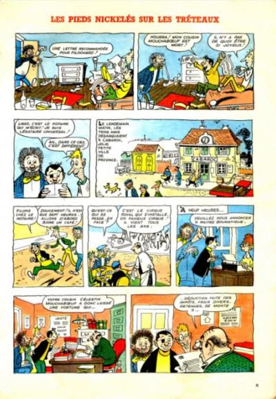 Page 1 Les Pieds Nickelés (3e série) (1946-1988) tome 55 - Les pieds nickelés sur les tréteaux