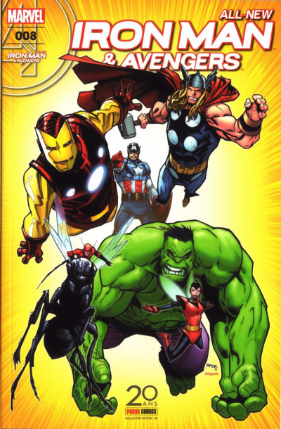 Couverture All-New Iron Man & Avengers tome 8