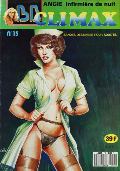 BD Climax  tome 15 - Angie Infirmière de nuit (éd. 1989)