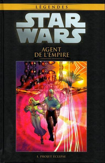 Couverture Star Wars - Légendes - La Collection (Hachette) tome 39 - Agent de l'Empire - I. Projet Éclipse (éd. 2017)