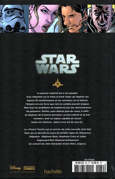 Dos Star Wars - Légendes - La Collection (Hachette) tome 39 - Agent de l'Empire - I. Projet Éclipse (éd. 2017)