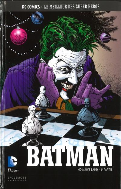 Couverture DC Comics - Le Meilleur des Super-Héros - Batman - No Man's Land - 6e partie (éd. 2017)