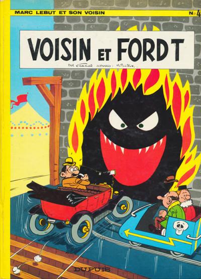 image de Marc Lebut et son voisin tome 4 - Voisin et Ford T (édition 1971)