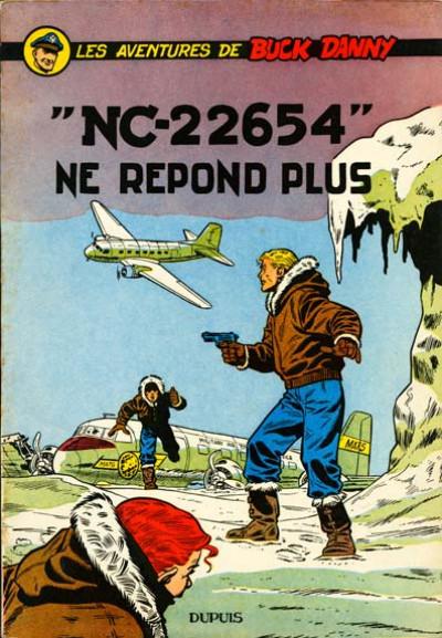 """image de Buck Danny tome 15 - """"NC-22654"""" ne répond plus (édition 1957)"""