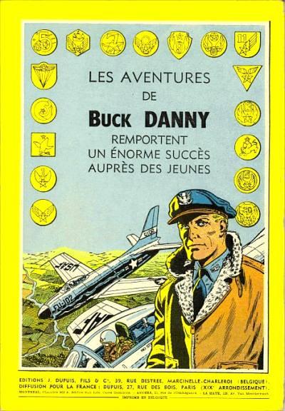 Couverture Buck Danny tome 15 -