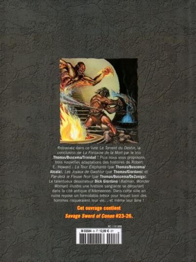 Dos Savage Sword of Conan (The) - La Collection (Hachette) tome 8 - La tour éléphante (éd. 2018)