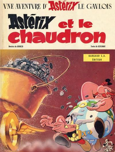 image de Astérix tome 13 - Astérix et le chaudron (édition 1969)
