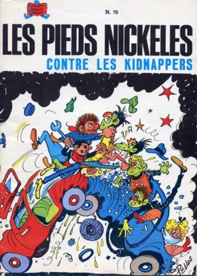 Couverture Les Pieds Nickelés (3e série) (1946-1988) tome 79 - Les Pieds Nickelés contre les kidnappers