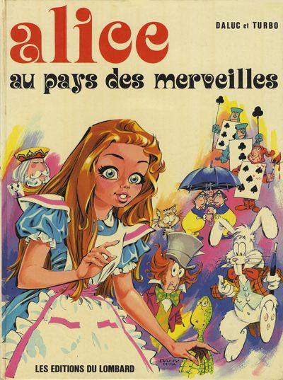 image de (AUT) Lacombe, Benjamin tome 1 - Alice au pays des merveilles (édition 1973)