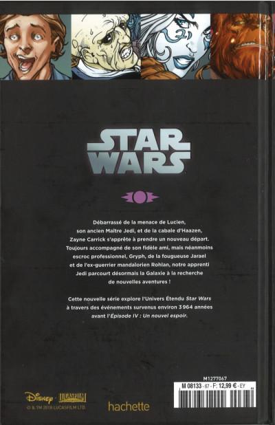 Dos Star Wars - Légendes - La Collection (Hachette) tome 67 - Chevaliers de L'Ancienne République - VI. Ambitions Contrariées (éd. 2018)